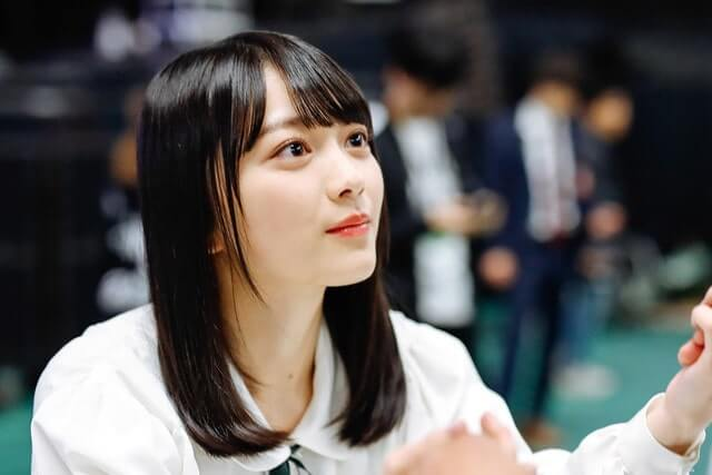 森田ひかる 握手会 お見立て会 欅坂46 2期生