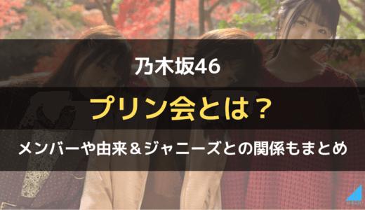 プリン会(乃木坂46)とは?メンバーや由来&キンプリ(ジャニーズ)との関係もまとめ